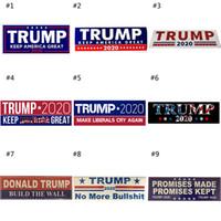2020 Donald Trump Eleição Adesivos de Carro Adesivo Mantém Faça a América Grande Decalque para Carro Estilo Paster Veículo
