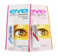 EyLash لاصق رموش العين الغراء أبيض وأسود ماكياج ماء الرموش الصناعية مواد لاصقة الغراء التمديد جيد