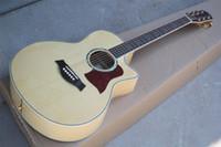 Factory Custom Original-Body Solid Top Akustikgitarre mit Palisander Griffbrett, Goldene Tuners, kann besonders angefertigt werden