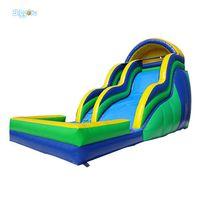 Alta Qualidade Personalizada Ao Ar Livre Durável Corrediça de Água Inflável Dry Slide para crianças e adultos