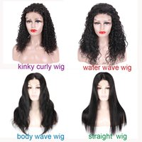Natural Brazilian Virgin Hair Lace Wig Glueless Straight Hum...