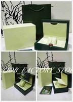 2019 новый зеленый Brand Watch Оригинал Box Papers карты кошелек Рождество подарочные коробки сумки 0.7KG Для топ часы коробка