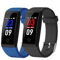 W8 OTA Automatische Pulsmesser Smart Armband Schrittzähler Tracker Smart Watch Farbe Bildschirm Smart Armbanduhr Für iPhone Android Uhr