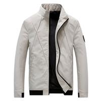 CYSINCOS 자켓 남성 패션 캐주얼 느슨한 남성 자켓 스포츠 폭격기 재킷 남성과 코트 플러스 사이즈 M-5XL 망