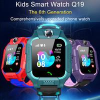 de Z6 Crianças relógio inteligente IP67 funda impermeável 2G SIM Card GPS Tracker SOS Anti-perdida relógio inteligente para iOS Android PK Z5 Q12 Q50