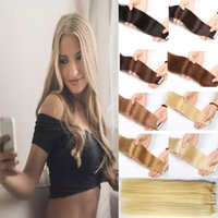 Babe Tape in Hair Extensions Black Blonde Showjarlly Hair Br...