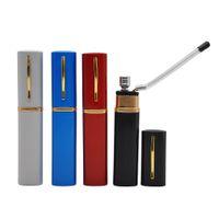 Красочный карманный переносной мини творческий стиль ручки металлическая вода трубочный табак кальяна кальян вода табак курить