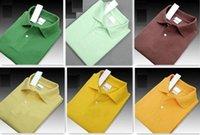 Yeni Yaz Erkekler Lüks En kaliteli Marka Timsah Nakış Polo Gömlek Kısa Kollu Serin Pamuk Slim Fit Casual İş Erkekler gömlek