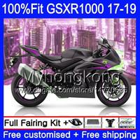Injectie voor Suzuki GSX R1000 K17 Matte kleur GSX-R1000 GSXR 1000 331hm.89 L7 L8 GSXR-1000 GSXR1000 17 18 19 2017 2018 2019 OEM Fairing