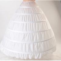 Кружева Edge 6 Hoop Detticoat Hownerskirt для шарикового платья Свадебное платье 110см Диаметр нижнего белья Кринолин Свадебные аксессуары