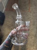 2020 madri-ship vetro fumatori classico klein Glass Bong Recycler tubo di acqua Bong uovo fab rigs tamponare vetro Pipe 14,4 millimetri comune