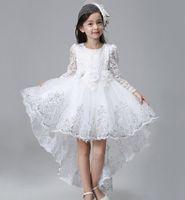Neue Prinzessin Pageant Kids Blumenmädchenkleid, charmante Mädchen Party PROM BIREVERBAUEN HOCHZENDEN KINDER KINDER TF01