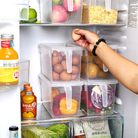 Refrigerator Storage Boxes Kitchen Transparent PP Storage Bo...