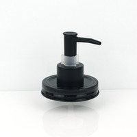 Black Plastic ABS With Clip Lock Soap Dispenser Lid For Maso...