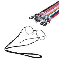 Nuevo deporte Gafas Gafas Gafas de sol cadenas Cuello Cuerda Correa Cordón Titular Ajustable Accesorios de moda Envío Gratis