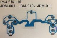 Nova Substituição Cabo de Fita Flexível Circuito Impresso Condutora Film Botões Verde Azul Para PS4 PS4 Controlador Slim 2.0 3.0 4.0 5.0 Versão