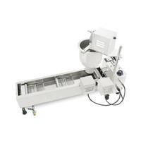 BEIJAMEI Prix usine commerciale beignes électrique automatique 220 V beignet Making Machine Fryer à vendre