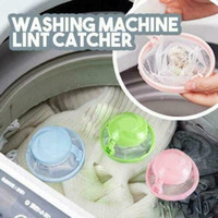 Home Floating Lint Hair Catcher Mesh Pouch Washing Machine L...