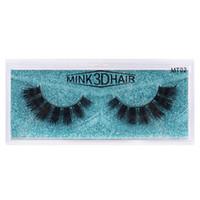 Handmade толщины норки ресницы естественно длинные 3D норки волос накладных ресниц 10 стилей, доступных ресницы расширений DHL Free