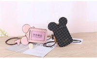 17Styles cartoon ear letter dot Card Slot Holder happy dream...