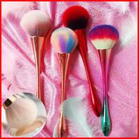 Pinceaux de maquillage pour la fondation brosse visage ombre brosses maquillage pinceau serti pour ombre à l'oeil brocha de maquillaje trop confronté à brosse