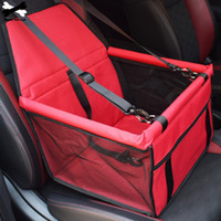 Viaggi pieghevole Pet Dog Car Seat Zaino Carrier Dog Cat Passeggino impermeabile traspirante veicolo Bed anteriore Seat Carrier