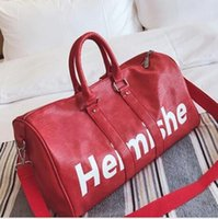 First LUXURY And Fashion Brand KEEPALL 55 DUFFLE BAG RED M53...