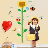 20190621 Bonito dos desenhos animados gato altura adesivo sala de crianças sala de aula do jardim de infância loja de roupas infantis decorativo fundo papel de parede