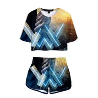 Free Shipping Music DJ Alan Walker 3D Print T- Shirt+ Shorts S...