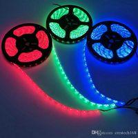 5m rotolo decorazioni luce di striscia SMD5050 3528 5630 IP65 IP68 IP20 Led strisce calda luce di striscia puro Bianco Rosso Verde RGB flessibile