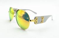 الجملة-حار بيع الأزياء medusae نظارات المرأة العلامة التجارية نظارات سفر روز الوردي سيدة نظارات المنصة نماذج gozluk tmall مع شعار