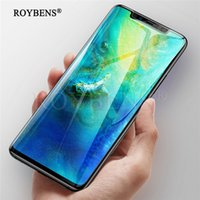 5D Curved Tempered Glass For Huawei Mate 20 Pro 9H Full Cove...