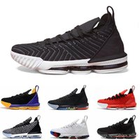 Mens Basketball Shoes 16s King Court Purple Dynasty Oreo Fre...