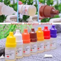 4шт 5mlNatural Flavor Essence для Ароматы Handmade Cosmetic Блеск для губ Основа Lipgloss DIY Grade Вкусовые Эфирное масло