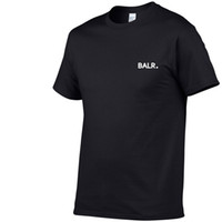 New Balr Designer T Shirt Hip Hop Mens Designer T-shirt Moda uomo di marca da donna manica corta T-shirt di grandi dimensioni