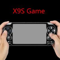 X9S Console de jeu vidéo de poche 5,1 pouces Écran 8 Go Classic SFC NES GBA Neogeo CPS Jeux de jeu Simulato Support TV OUT OUT OUT MP3 E-book