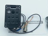 Fishman Presys 301 Mic Miscela modello dual preamplificazione EQ della chitarra Tuner raccolta piezo-elettrica