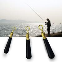 10 / Bronze acessórios de cabeça do banco bóia de pesca bóia de pesca de deriva seat bóia de pesca Artes de rotação do bloco cabeça cobre flutuante