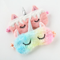 Unicorn Sleep Masks Erwachsene Rest Eye Mask Shade Cover Reisen Relax Zubehör Vision Care Articals 2019