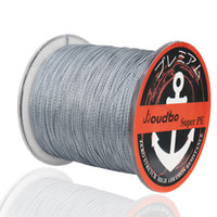 Jioudao Serie 300M PE geflochtene Angelschnur 4 Stränge Multifilament Super Strong Japan Multifilament Angelschnur 8-140LB