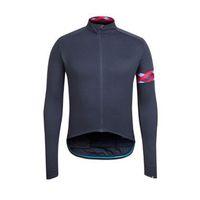 망 rapha 프로 팀 사이클 긴 소매 유니폼 MTB 자전거 셔츠 야외 스포츠웨어 통기성 빠른 건조 레이싱 탑 도로 자전거 의류 Y21042116