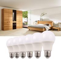 비 이식형 LED 전구 E26 E27 7W 조명 전구 110V 220V 화이트 라이트