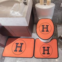 H Letter Home Mat Three Pieces Toilet Seat Cover Fashion Hom...