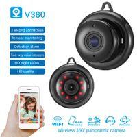 V380 mini Wifi camera 960P HD IP camera wireless TV night vision smart wifi network remote home baby monitor