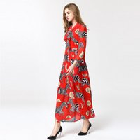 High Quality 2019 Spring Summer Fashion Women' s Dress N...