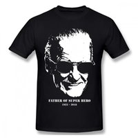 Remembering FATHER OF SUPER HERO Stan Lee RIP Tshirt Men soc...
