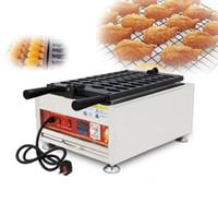 Продукты питания 110 В 220 В Коммерческая Электрическая Золотая рыбка Вафля Машина Mini Рыба Тайяки