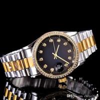 Luxus Watc Diamant Famous krone kann beobachten Top-Sport-Frauen-Golduhr 3A Qualität Quarz Funktion genaue Positionierung Quarz-Uhr daydate Geschenk