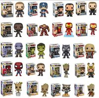 Funko Pop Vendicatori Marvel Endgame Infinity Spider Man di Stan Lee Iron Man Thor
