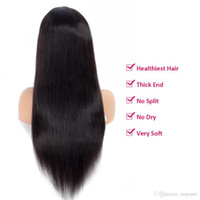 Ali Hot Straight Front High Temperature Wire Wigs Part Wigs ...